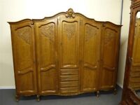 French Oak Armoire -beautiful, from France