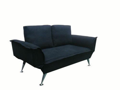schlafsofa zweisitzer sofas sessel ebay. Black Bedroom Furniture Sets. Home Design Ideas