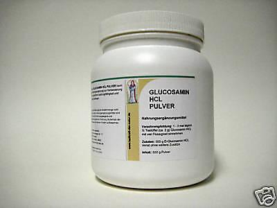Gesundheit Glucosamin (Glucosamin HCl 500 g Pulver Gelenkgesundheit  Apotheke)