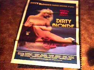 DIRTY BLONDE MOVIE POSTER TRIFOLDED DANIELLE - Dirty Blonde Movie