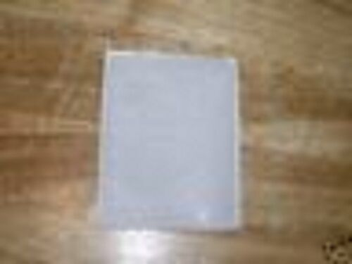 500 BUSINESS CARD VINYL CD SLEEVES WITH ADHESIVE BACK JS36