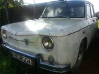 RENAULT 8 GORDINI (DACIA 1100 ) LHD , RESTORATION PROJECT FOR RALLY CAR