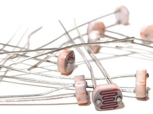 50 x Photo Resistor Kit - 10 each of GL5506 GL5516 GL5528 GL5537 GL5539
