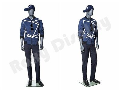 Male Fiberglass Abstract Style Mannequin Dress From Display Mz-mg004