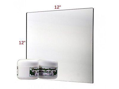 18 Mirror Acrylic Plexiglass Plastic Sheet 12 X 12 On Sale Azm