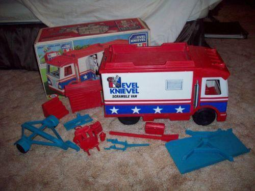Vintage Evel Knievel In His: Vintage Evel Knievel Toys
