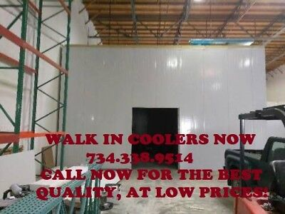 Custom Walk-in Cooler 12w X 12d X 10h Bakery Bar Butcher Restaurant