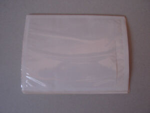 Brand new pack of 100 shipping lable invoice slip covers