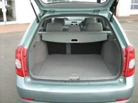2005. CHEVROLET LACETTI SX 1.6 GREEN PETROL ESTATE