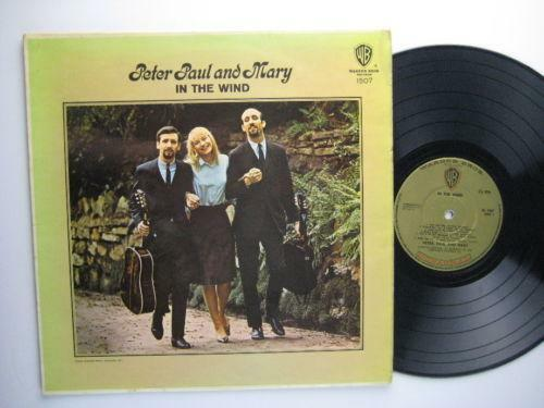Peter Paul And Mary In The Wind Ebay
