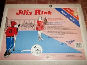 Collectable Jiffy Ice Rink & Pintas Bob Skates