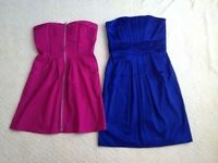 Women's bundle of summer party cocktail occasion dresses, size 8, VGC great fit