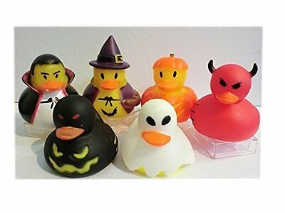 Halloween Enten/ Dekoration für Halloween Party 6er Pack ()