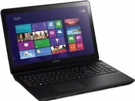 """Sony SVF152C29M/ i3-3227U/4GB RAM/ 500GB HDD/15""""/Windows 10"""