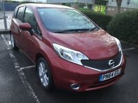 Nissan Note 1.2 DIG-S Tekna (red) 2014