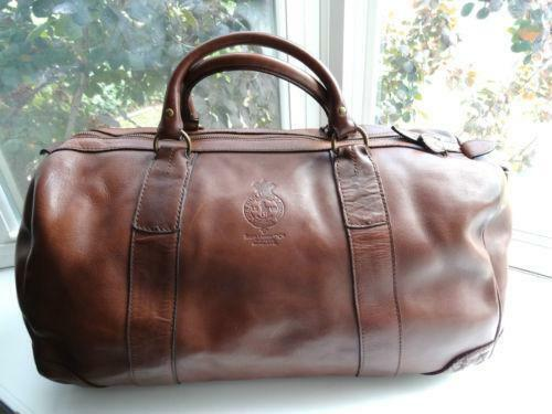 cfc0668f6515 free shipping offers accepted nwot polo ralph lauren core leather duffle  bag brown 498 57124 b18c1  denmark ralph lauren duffle bag ebay f8baf d9135
