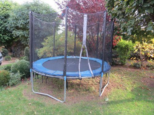 trampolin 3 meter ebay. Black Bedroom Furniture Sets. Home Design Ideas