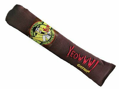 Cigar Cat Toy - Yeowww Catnip Cat Toy Cigar Original Brown 63072