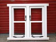 Wooden Cottage Windows