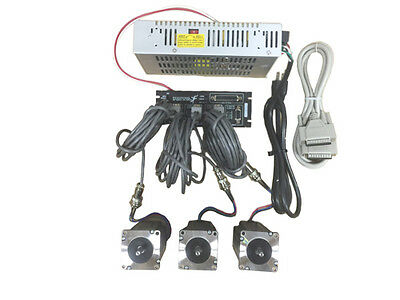 3 Axis Gecko G540 Kit With 381 Oz-in Stpper Motor 48v7.3a