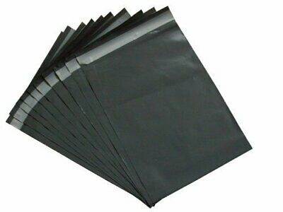 200 x STRONG GREY POSTAL MAILING BAGS 10x12
