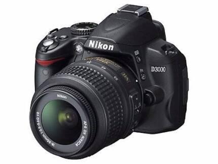 Nikon D3000 almost new, SLR CAMERA Tennyson Brisbane South West Preview