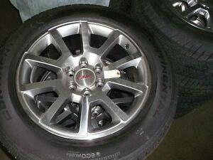 2015 GMC sierra factory 20 wheels tires  NEW PRICE
