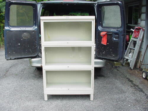 VTG METAL BARRISTER BOOKCASE GENERAL FIREPROOFING COMPANY INDUSTRIAL MID CENTURY