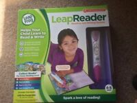 LeapFrog LeapReader - Pink with 3 Books