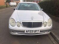 REDUCED !!!!! 2003 MERCEDES E320 CDI AVANTGARDE AUTO SILVER