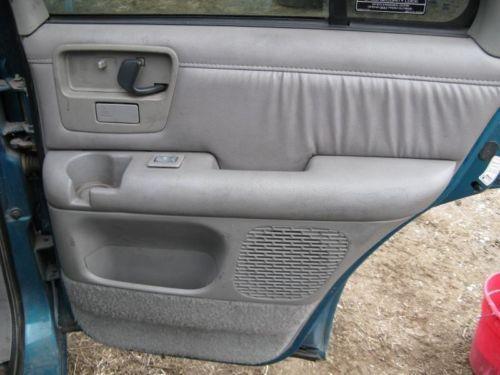 Chevy s10 door panel ebay for Chevy s10 interior door panels