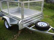 6x4 Cage Trailer