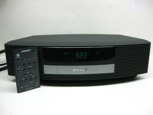 bose wave ii compact shelf stereos ebay. Black Bedroom Furniture Sets. Home Design Ideas