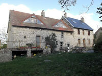 3 houses, 2 barns and 2500m2 land in Creuse region of FRANCE