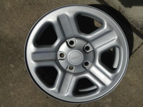 Jeep Wrangler Tires And Rims >> Jeep Wrangler 16 Wheel OEM | eBay