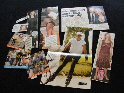 HELEN HUNT magazine clippings