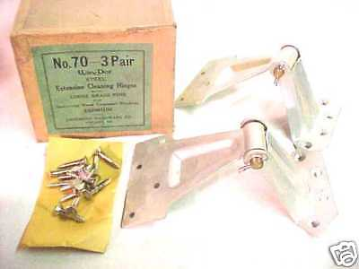 NOS! Win-Dor PAIR of EXTENSION CLEANING HINGES No. 70