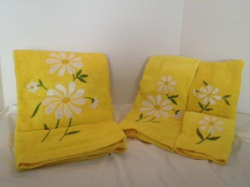 Floral Bath Towels Ebay