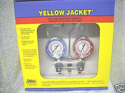 Yellow Jacket Titan R410a404a22 Cmpt Ball Valve Hoses