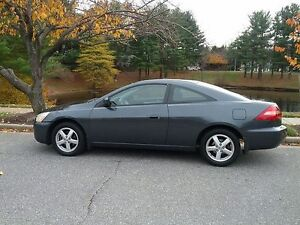 2006 HONDA ACCORD COUPE V6 LEATHER SUNROOF ACCIDENT  FREE