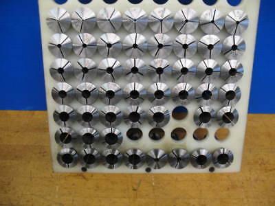 50 Boley Leinen Lathe Collets 116 - 34 X 64ths Vgc