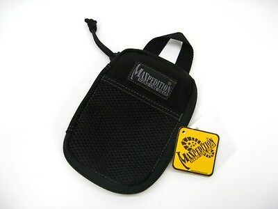 MAXPEDITION Black Micro POCKET ORGANIZER Pouch Bag! 0262B