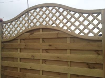 European Omega Lattice Top Panels 6ft x 5FT Pack Of 10