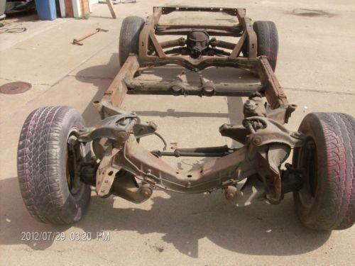 Corvette Frame Parts Amp Accessories EBay