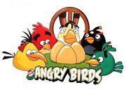 Angry Birds Wandtattoo