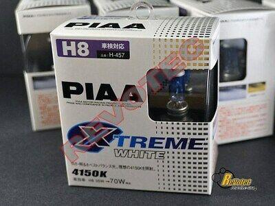 Piaa H8 Xtreme White Plus Halogen Replacement Bulbs Twin Pack 18235 Xtreme White Plus Replacement Bulbs