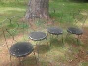 Antique Ice Cream Chairs