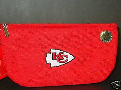 "NFL ""Pencil Bag"", ""Kansas City Chiefs"" NEW"