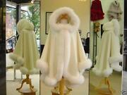 White Fur Cape