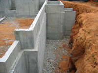 Foundation Quote On New House Build Ayr , Ontario